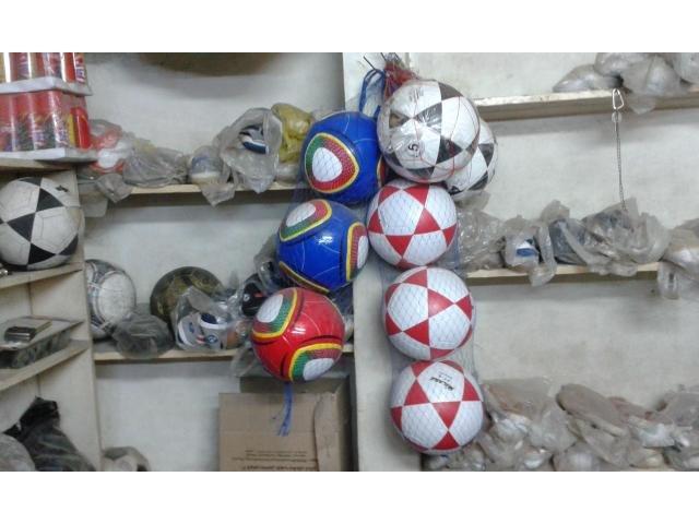 اصلاح كرة قدم و جميع انواع الكور وبيع وشراء وتأجير كور القدم